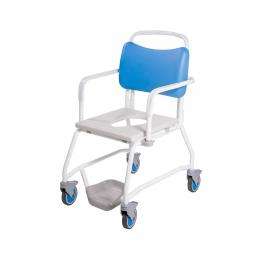 XL Attendant Propelled Commode Chair (190kgs)