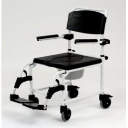 Attendant Propelled Commode Shower Chair Combined Commode-Shower Chairs