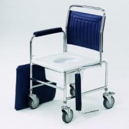 Mobile Adjustable Height Drop Arm Commode Mobile & Static Commode Chairs