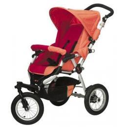"Deluxe ""Jogger"" Style Stroller Deluxe Reclining Comfort Stroller"