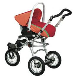 Deluxe Stroller + Baby Carrier + Auto Carry Cot (Complete) Deluxe Baby Car Carrier + Chassis